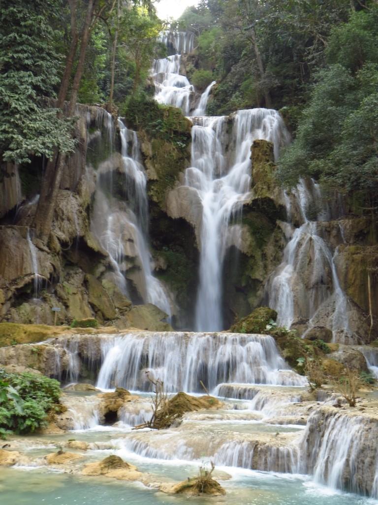 Zdjęcia: wodospady Kuang Si, Laos północny, Kuang Si, LAOS