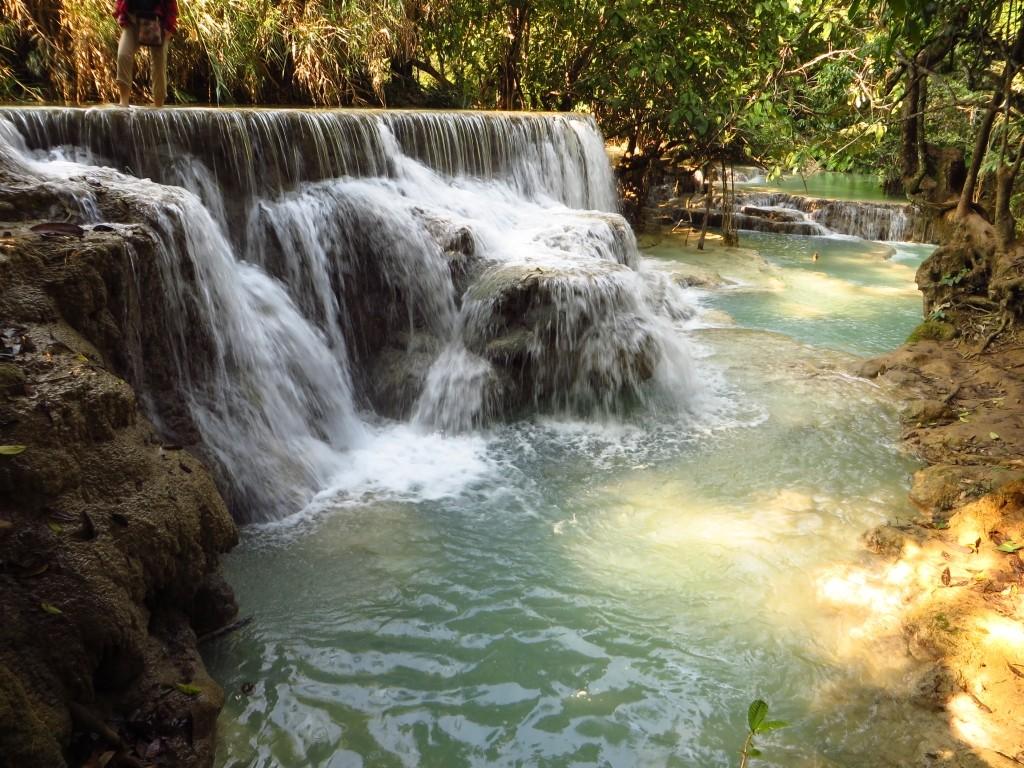 Zdjęcia: wodospady Kuang Si, Laos północny, Park Kuang Si, LAOS