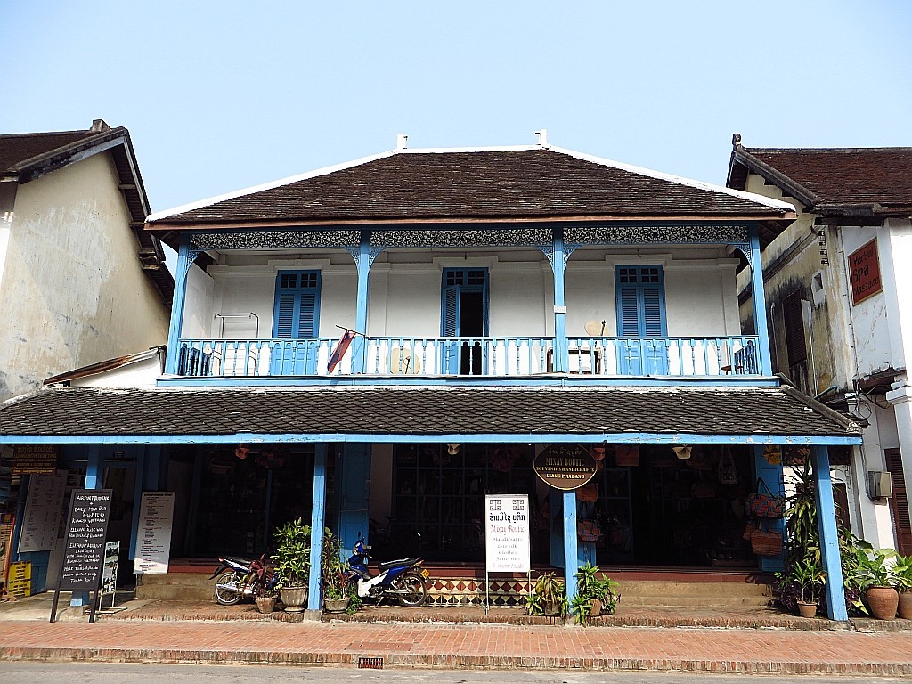 Zdjęcia: Luang Prabang, Laos północny, architektura laotańska, LAOS