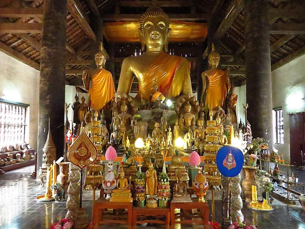 Zdjęcia: Luang Prabang, Laos północny, Wat Visounnarath, LAOS