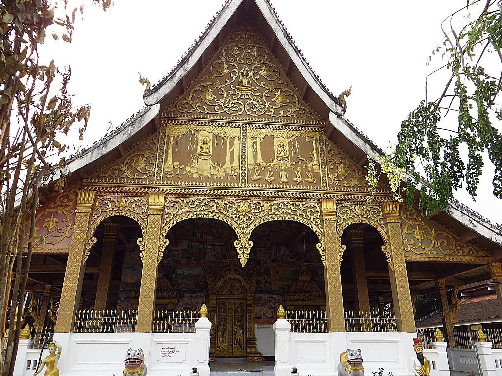 Zdjęcia: Luang Prabang, Laos północny, Wat Sanasongkham, LAOS