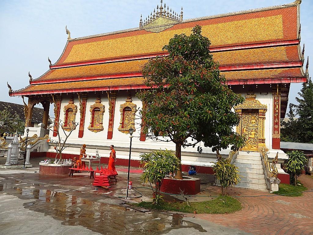 Zdjęcia: Luang Prabang, Laos północny, Wat Nong Sikhounmuang, LAOS