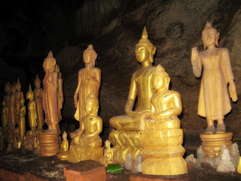 Zdjęcia: Luang Prabang, Luang Prabang, Jaskinie Pak Ou, LAOS