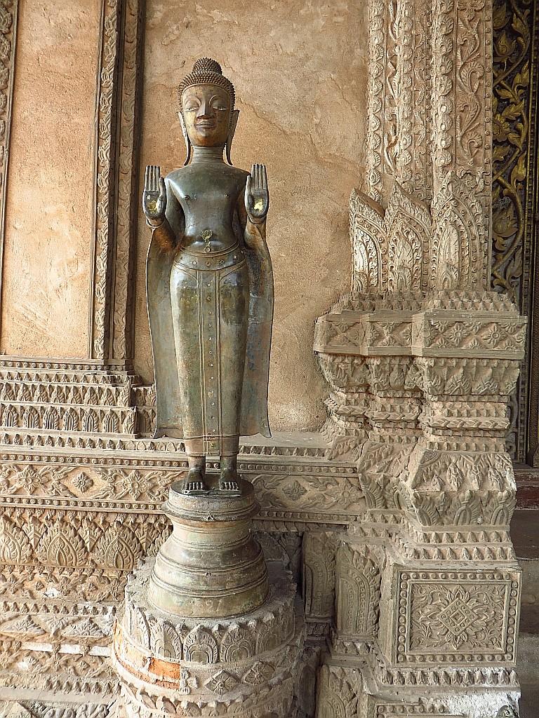 Zdjęcia: Vientiane, Laos północny, Świątynia Ho Phra Keo, LAOS