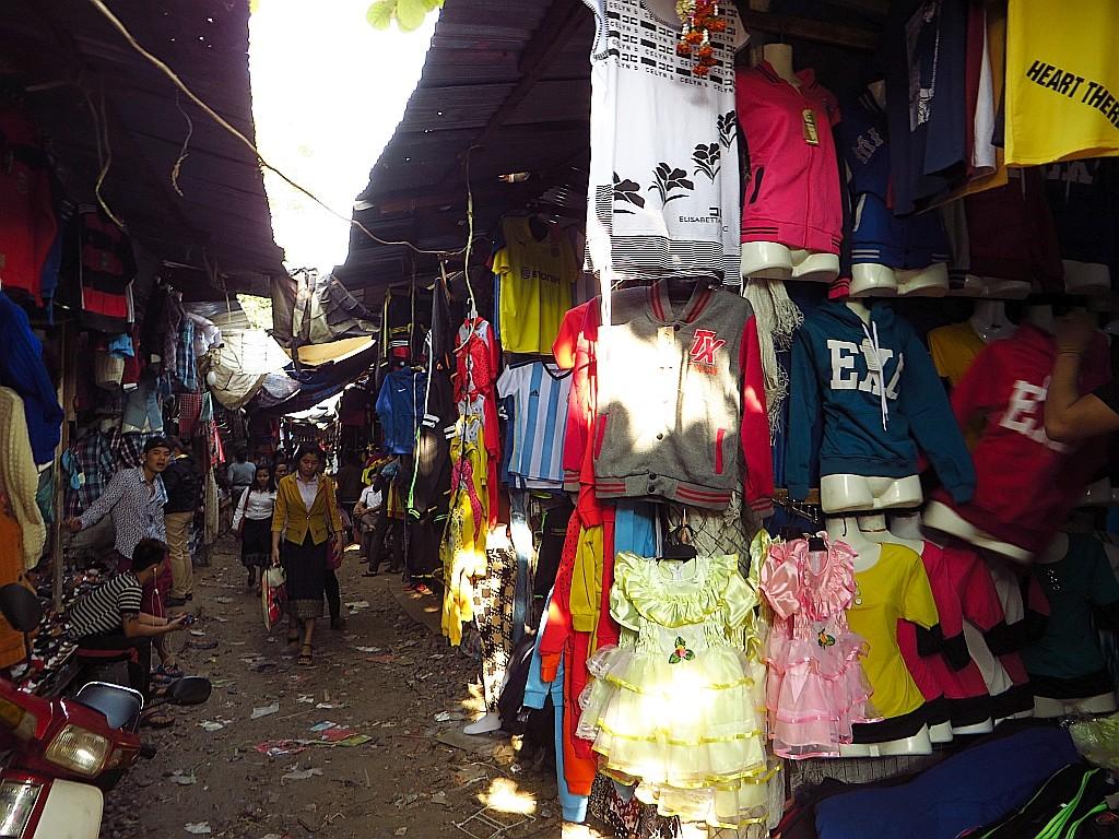 Zdjęcia: Vientiane, Laos północny, Talat Sao - poranny targ, LAOS
