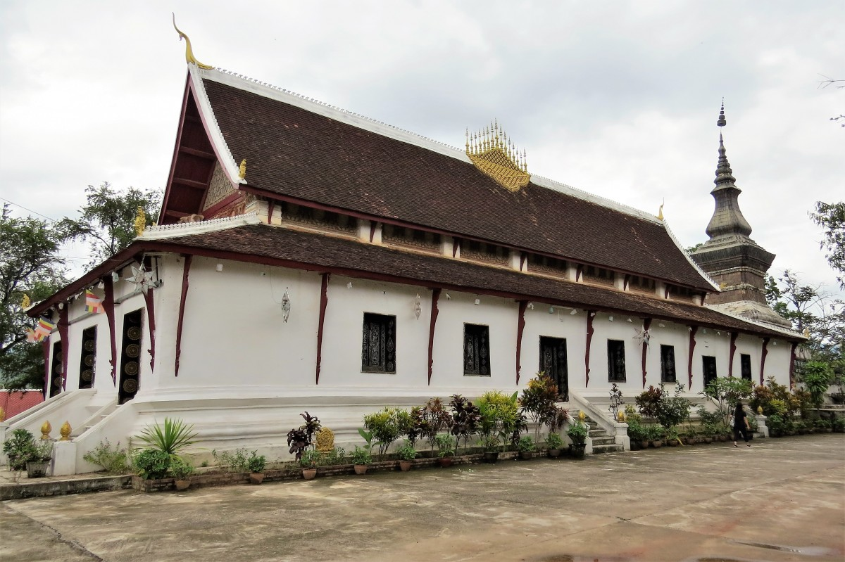 Zdjęcia: Luangprabang, Wat That Luang, LAOS