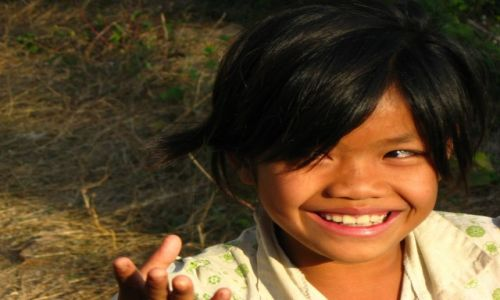 Zdjęcie LAOS / Laos / Luang Prabang / Smile