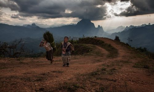Zdjęcie LAOS / Phou Khoun / Phou Khoun / w gorach Laosu