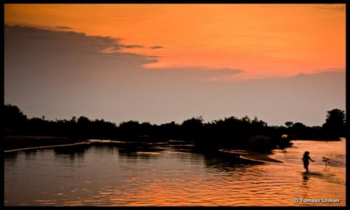 Zdjecie LAOS / 4000 wysp / Don Det / Zachód słońca - Laos