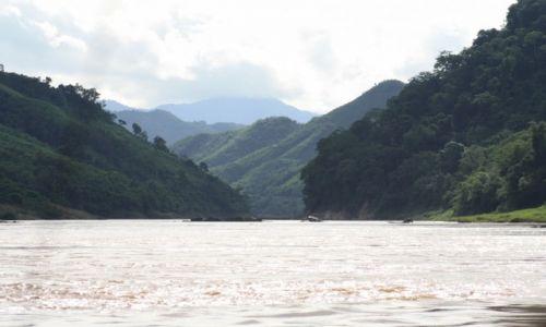 Zdjecie LAOS / trudno powiedzieć / rzeka Mekong / W drodze do Luang Prabang