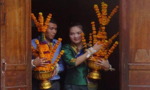Zdjecie LAOS / - / Nong Khiaw / para młoda