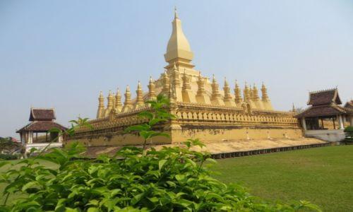 Zdjecie LAOS / Vientian / Pha That Luang / ...