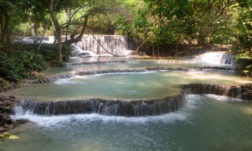 Zdjęcie LAOS / Luangprabank / Wodospad Kuang Si / Wodospad