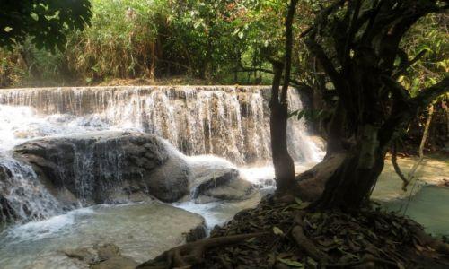 Zdjęcie LAOS / Louangphrabang / Wodospad Kuang Si / ....
