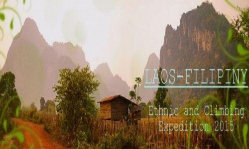 LAOS / Vang Vieng / Vang Vieng / Logo