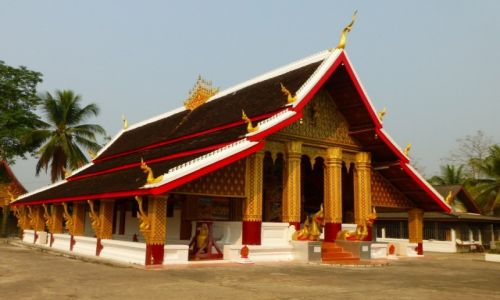 Zdjęcie LAOS / Luang Prabang / Wat Ho Xiang / Jedna z 32 świątyń w dawnej stolicy