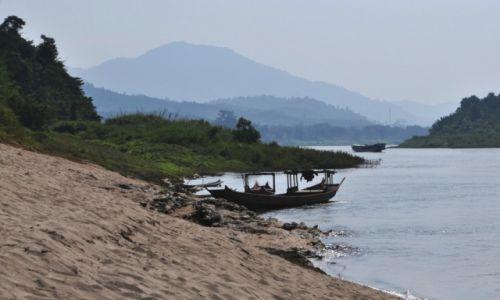 Zdjęcie LAOS / północny Laos / rzeka Mekong / Nad Mekongiem
