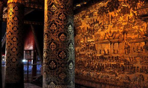 Zdjęcie LAOS / Louangphrabang / Wat Mai / Złota fasada Wat Mai