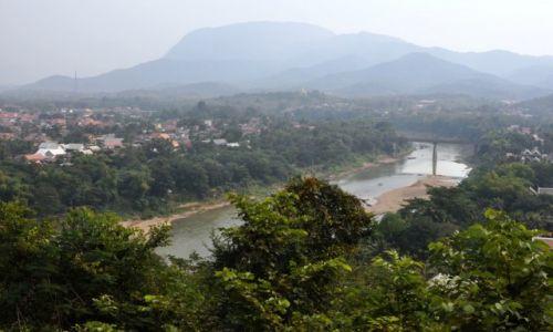 Zdjęcie LAOS / północny Laos / Louangphrabang / Widok na Louangphrabang