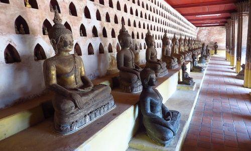 Zdjęcie LAOS / Laos północny / Vientiane / Wat Si Saket