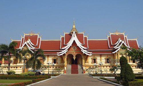 Zdjęcie LAOS / Laos północny / Vientiane / laotańska architektura
