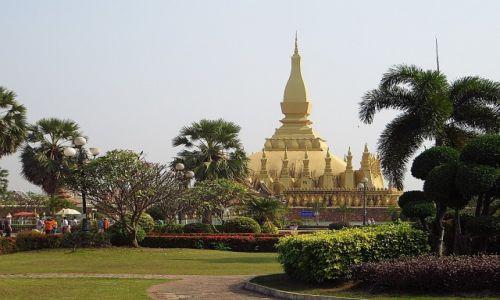 Zdjęcie LAOS / Laos północny / Vientiane / Stupa Królewska