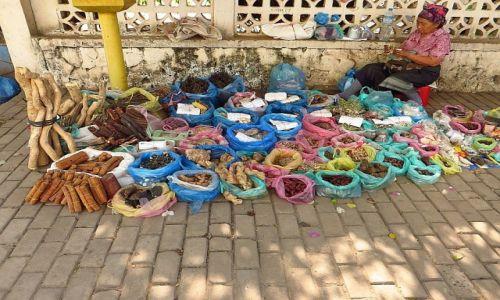 Zdjęcie LAOS / Laos północny / Vientiane / uliczny sprzedawca