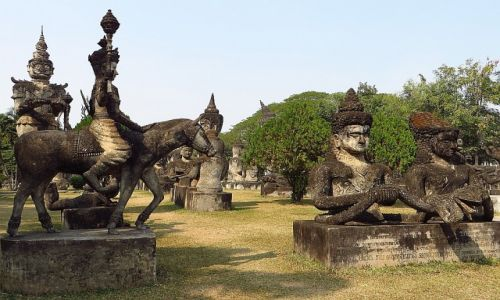 Zdjęcie LAOS / Laos północny / okolice Vientiane / Park Buddy