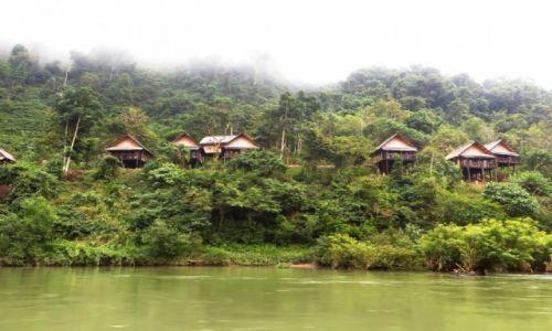 Zdjęcie LAOS / Laos północny /  Nong Khiaw / bungalowy hotelu River Side