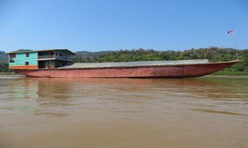 Zdjęcie LAOS / Laos północny / Luang Prabang - groty Pak Ou / rejs po Mekongu