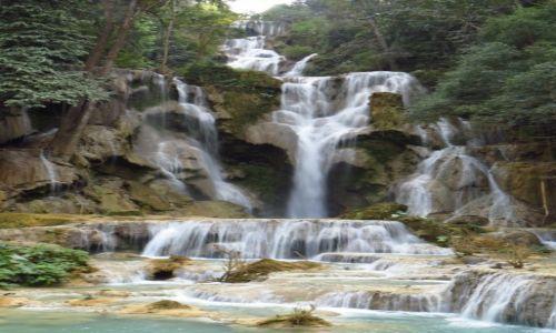 Zdjęcie LAOS / Laos północny / wodospady Kuang Si / Kuang Si