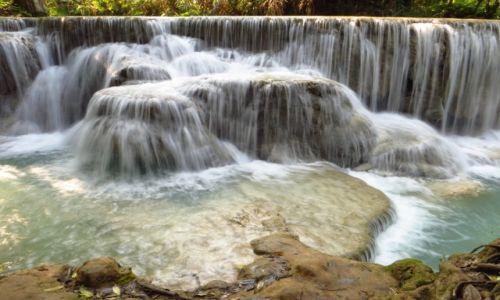 Zdjecie LAOS / Laos północny / wodospady Kuang Si / Park Kuang Si