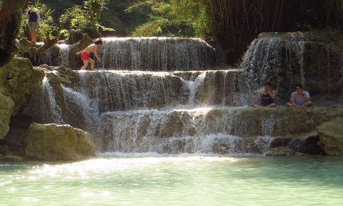 Zdjęcie LAOS / Laos północny / okolice Luang Prabang / Park Kuang Si