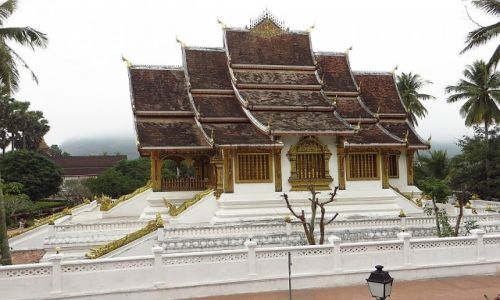 Zdjęcie LAOS / Laos północny / Luang Prabang / królewska kaplica