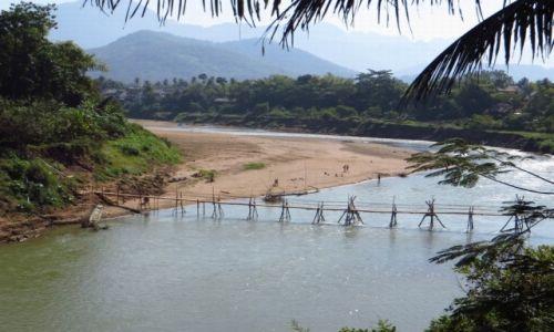 Zdjęcie LAOS / Laos północny / Luang Prabang / rzeka Nam