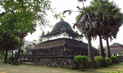 Zdjęcie LAOS / Laos północny / Luang Prabang / stupa arbuzowa