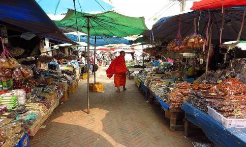 Zdjęcie LAOS / Laos północny / Luang Prabang / na targu