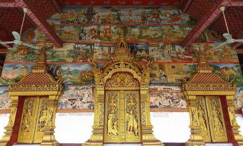Zdjęcie LAOS / Laos północny / Luang Prabang / Wat Sanasongkham