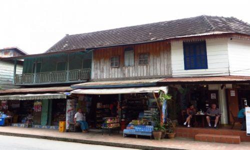 Zdjęcie LAOS / Laos północny / Luang Prabang / kolonialna zabudowa