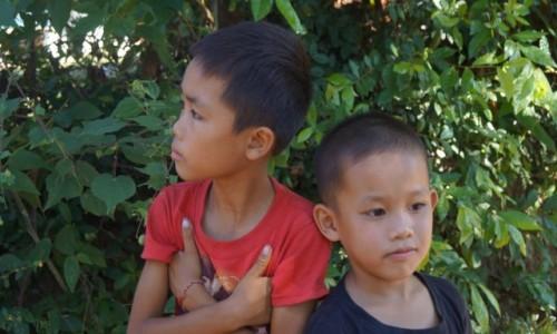 Zdjecie LAOS / Luang Prabang / Nad Mekongiem / Przyjaciele?