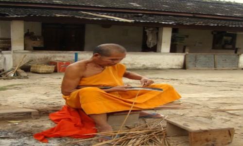 Zdjęcie LAOS / Północ / Klasztor niedaleko Jaskiń Pak Ou / Spokojne życie
