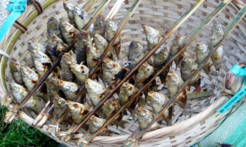 Zdjecie LAOS / . / na targu / rybki
