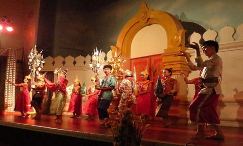 Zdjęcie LAOS / Laos północny / Vientiane / laotańskie tańce