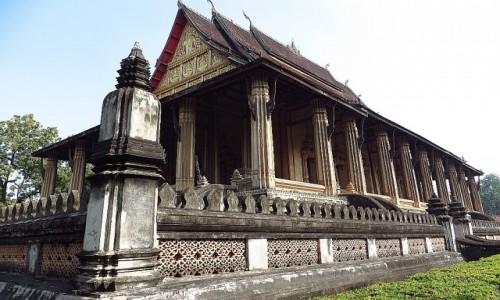 Zdjęcie LAOS / Laos północny / Vientiane / Świątynia Ho Phra Keo