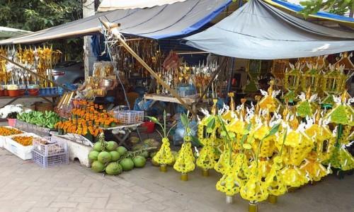 Zdjęcie LAOS / Laos północny / Vientiane / stragan