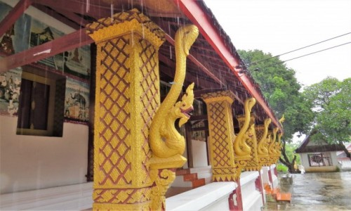Zdjecie LAOS / - / Luangprabang / Vat Nong Sikhounmuang