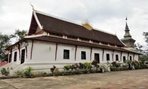 Zdjecie LAOS / - / Luangprabang / Wat That Luang