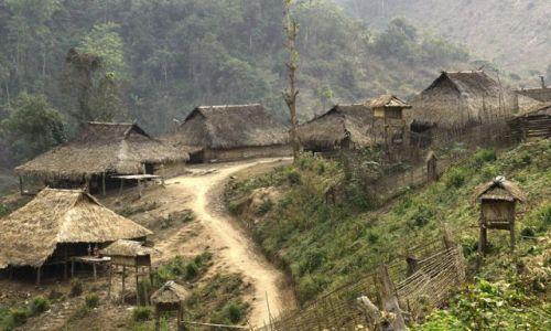 Zdjęcie LAOS / brak / MUANG SING   Wioka          plemie   AKHA / AKHA 7