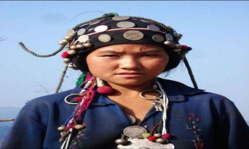 Zdjecie LAOS / brak / pln. Laos  / Kobieta z Akha