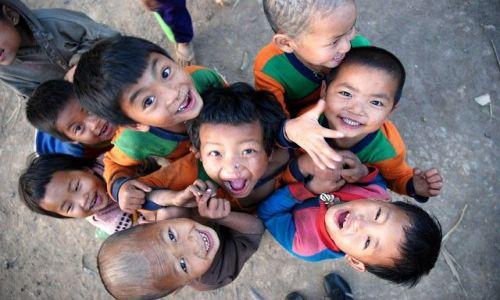 Zdjęcie LAOS / brak / So Pee Kao / Dzieci Akha